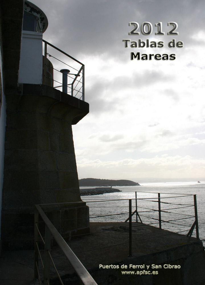 Tabla de mareas 2012