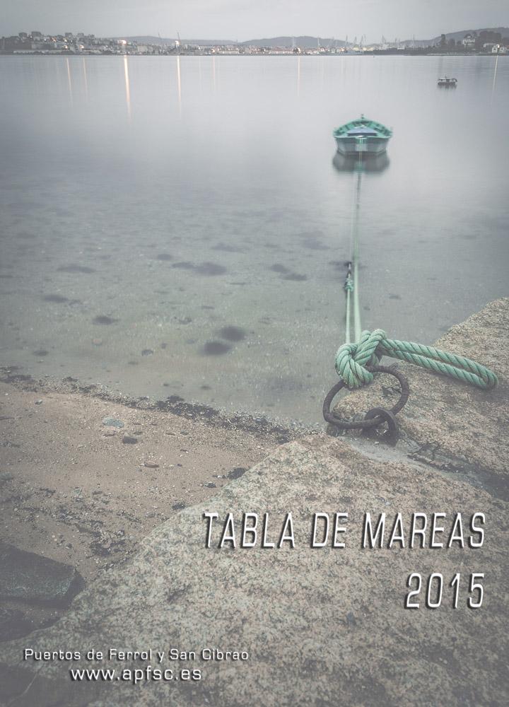 Tabla de mareas 2015