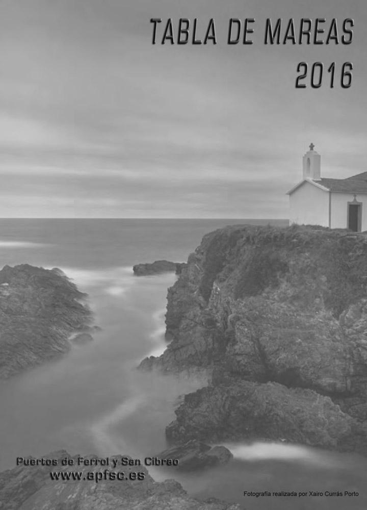 Tabla de mareas 2016