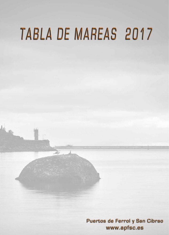 Tabla de mareas 2017