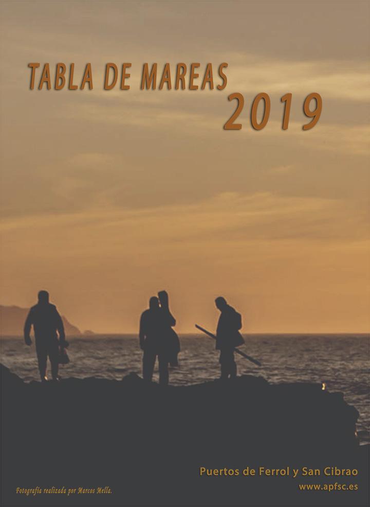 Tabla de mareas 2019