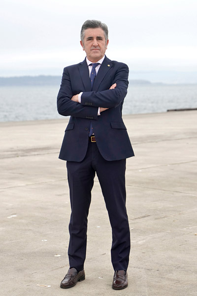 Imaxe do presidente da APFSC.